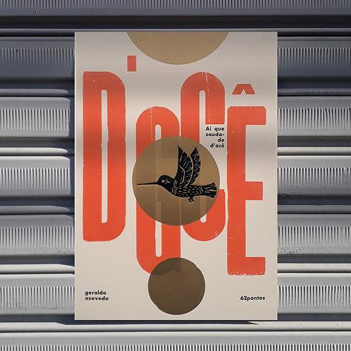 Poster Saudade D'ocê