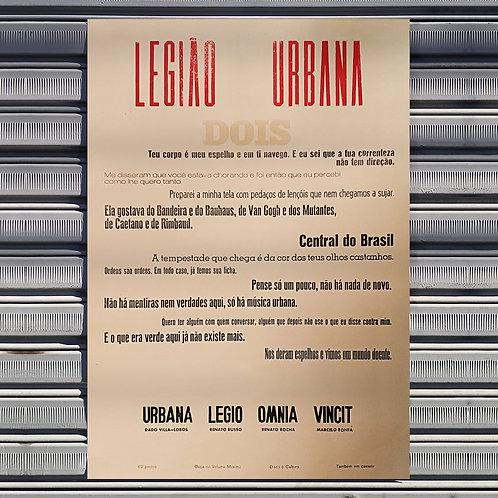 Poster Legião Urbana - Dois