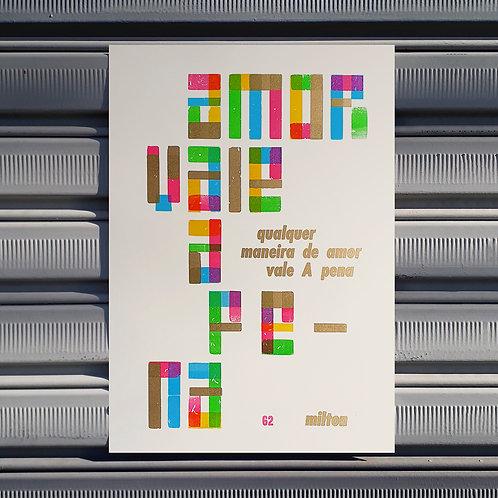 Poster Paula e Bebeto