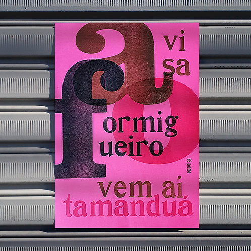 Poster Formigueiro