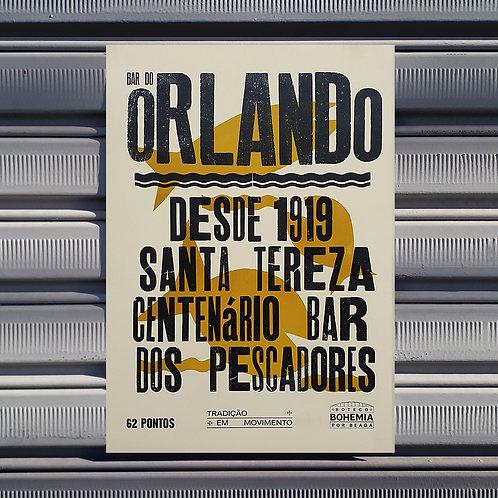 Poster Bar do Orlando