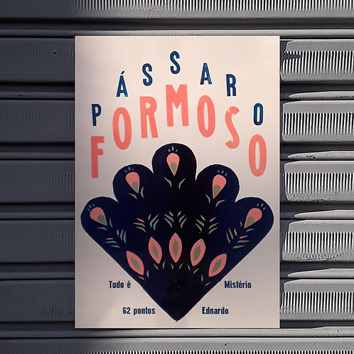 Poster Pavão Misterioso