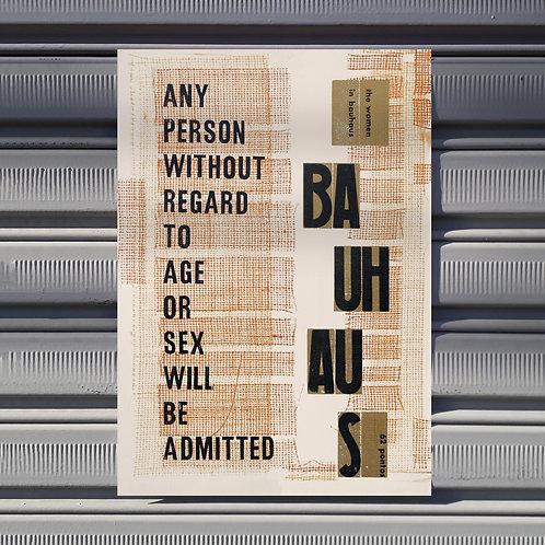Poster Bauhaus - Gabriel
