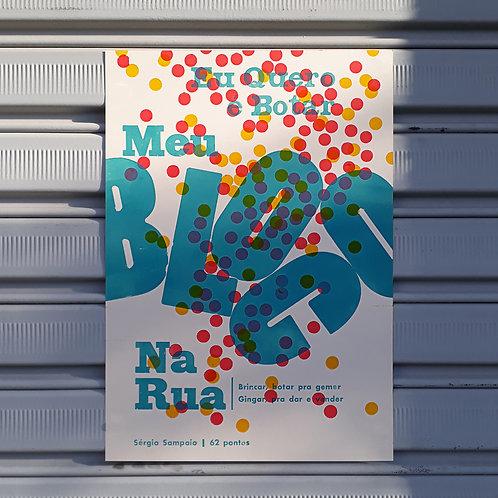 Poster Bloco na Rua