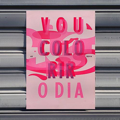 Poster Colorir o dia