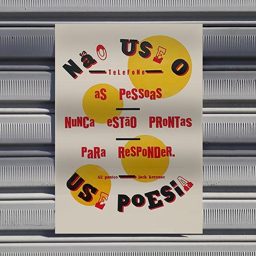 Poster Telefone (Jack Kerouac)