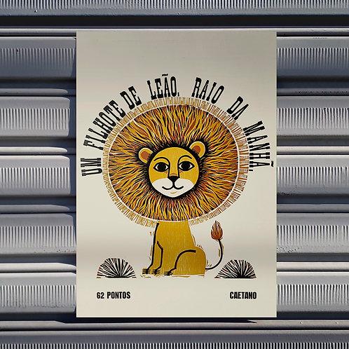 Poster O Leãozinho
