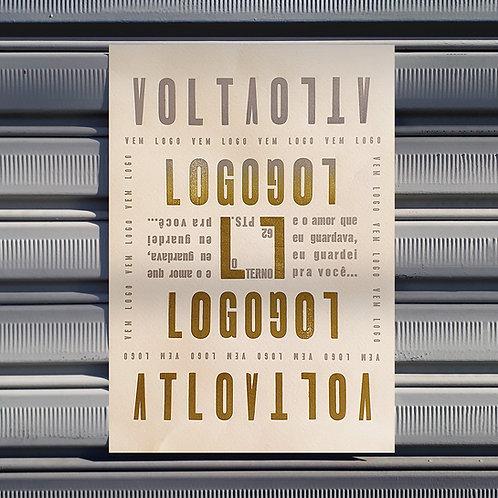 Poster Volta