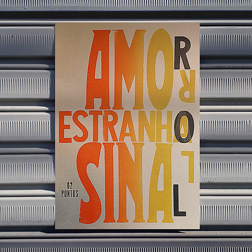 Poster Amor Sinal