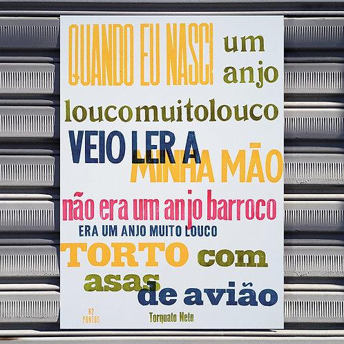 Poster Anjo Barroco
