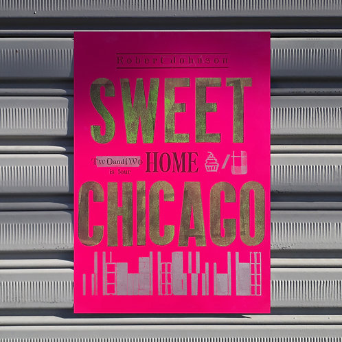 Poster Sweet Home Chicago
