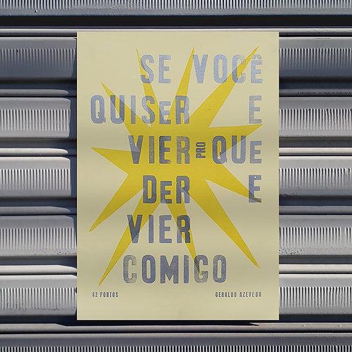 Poster Dia Branco