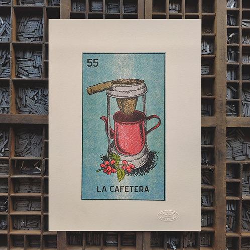 Poster La Cafetera