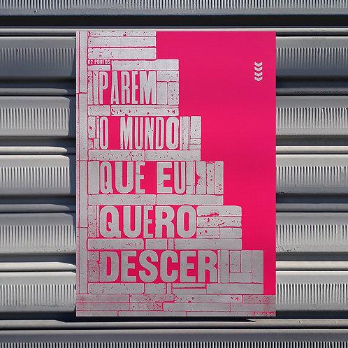Poster Parem o Mundo