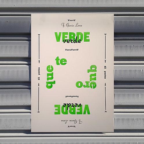 Poster Verde que te Quero Verde