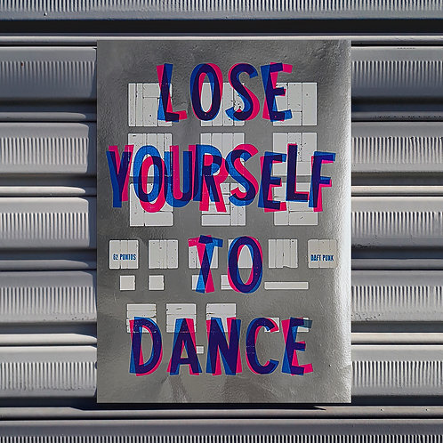 Poster Lose Yourself to Dance
