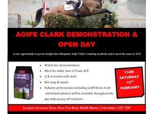 Demonstration and Open Day 13th February