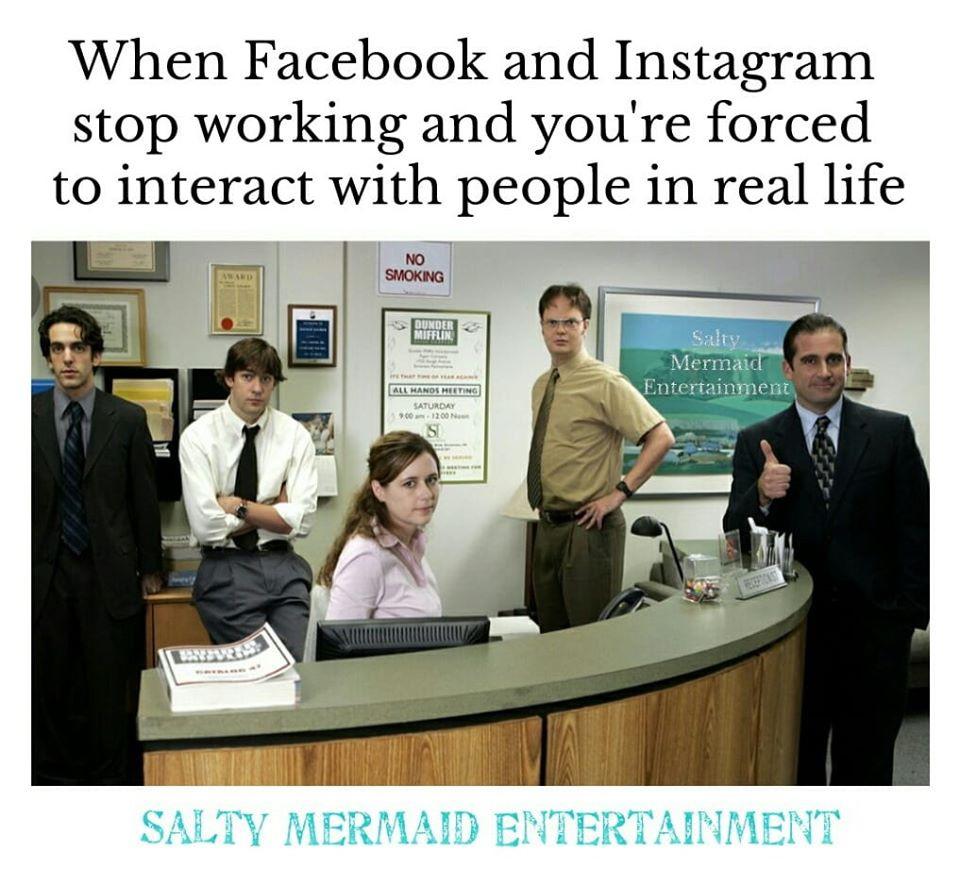 Social Media v Real Life