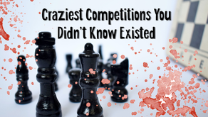 Craziest Competitions You Didn't Know Existed - WTFF Podcast Episode 30