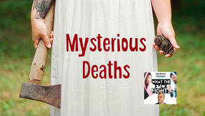 Mysterious Deaths - What the F*ck Fights Podcast Episode 27