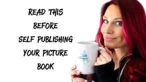 3 Super Important Tips For Self Publishing A PIcture Book