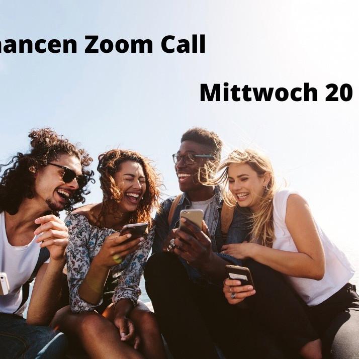 Chancen Zoom Call am Mittwoch um 20.00 Uhr
