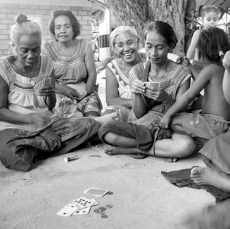 """""""With this pandemic, we just focus on our family and how we're going to survive from day to day. We do not know when this situation will end, as it is worldwide. We are still being able to be humorous – laughing out loud at situations."""" [Interview - Fijian elder]"""