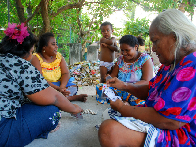 """""""Our communities have come together more I think - we always shared but this time without rushing in and out of homes to go to work, we actually have proper conversations with our neighbours like the old days. We take the time… to make sure neighbours and other extended families are ok, we visit each other more often"""" [Interview – Samoan female]"""