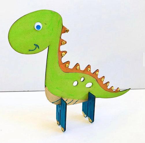 Bee Little DIY Wooden Dino