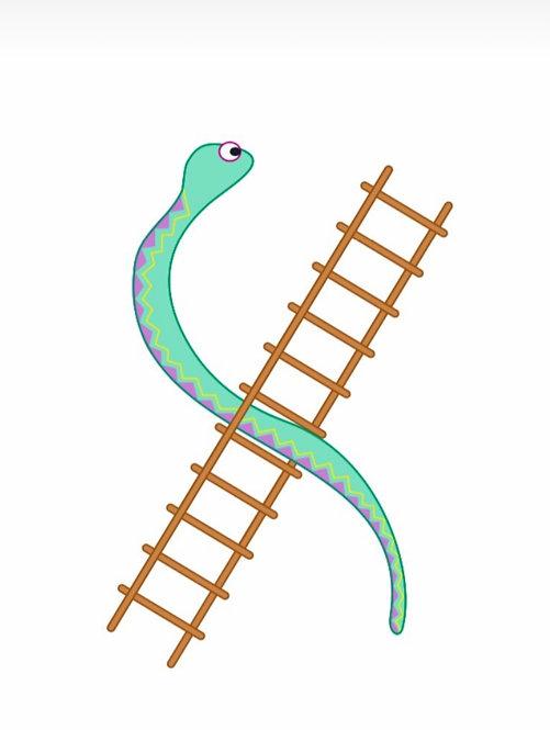 Bee Little Snakes & Ladder