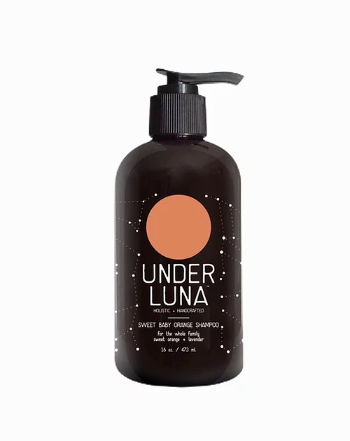 16 oz Under Luna Sweet Baby Orange Shampoo
