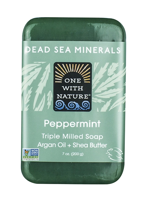 One With Nature Peppermint Soap