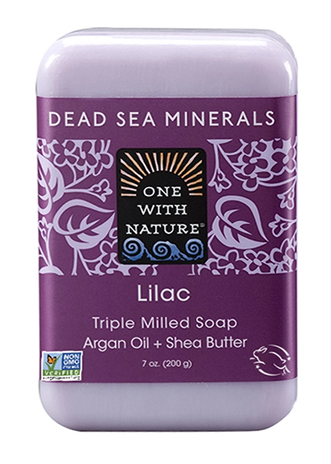One With Nature Lilac Soap
