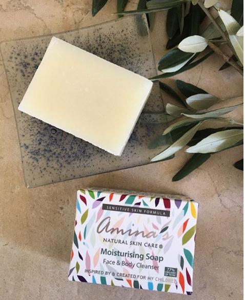 Amina's Organic Moisturizing Soap
