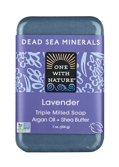 One With Nature Lavender Soap
