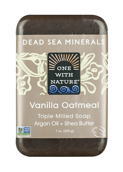 One With Nature Vanilla Oatmeal Soap