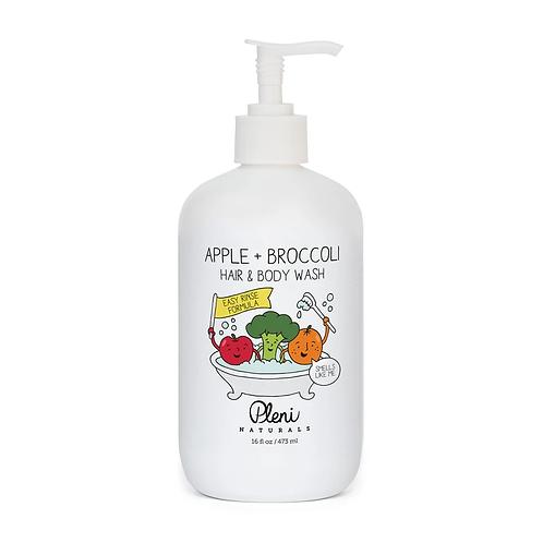 Pleni Naturals Apple+Broccoli Hair & Body Wash 473mL