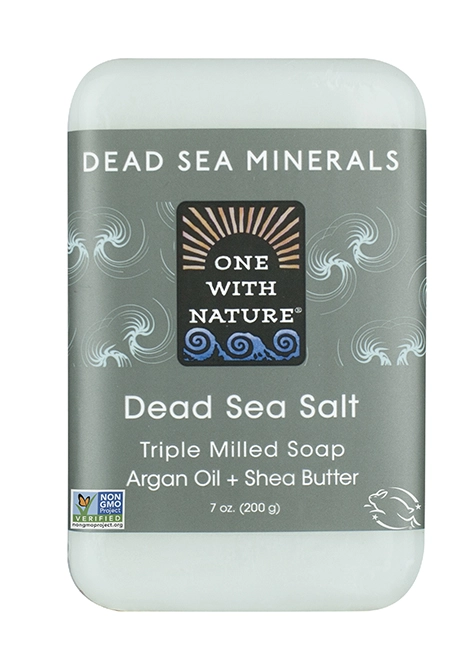 One With Nature Dead Sea Salt Soap