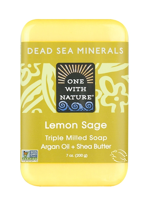 One With Nature Lemon Sage Soap