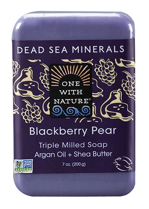 One with Nature Blackberry Pear Soap