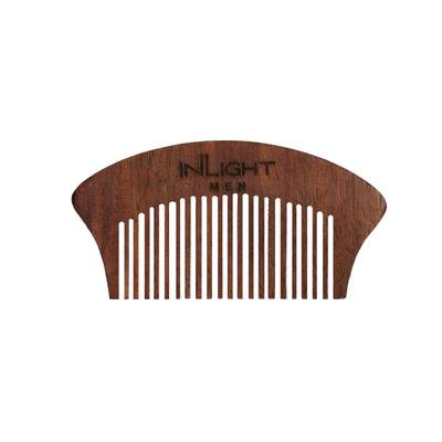 Inlight Wooden Beard Comb
