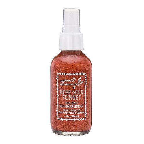 Rose Gold Sunset Sea Salt Shimmer Spray