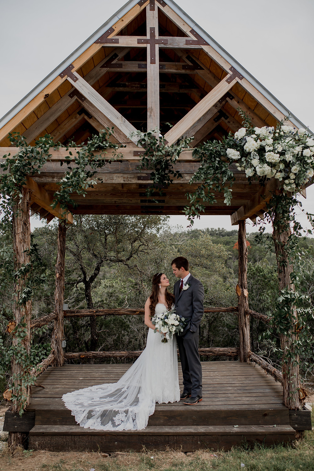 wedding at La Capilla Dripping Springs