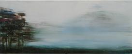 queit day,40x100cm,acryl auf leinwand
