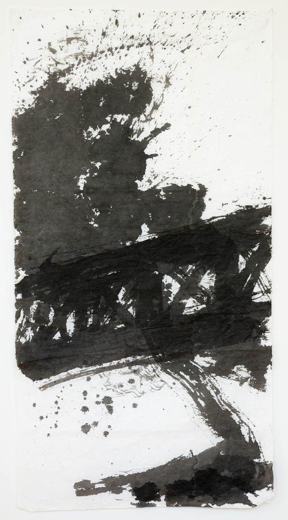 140 x 74cm    chinese ink on rice paper