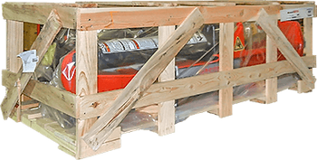 © Innovative Enterprises, Inc. Wooden Crate - Not Recyclable