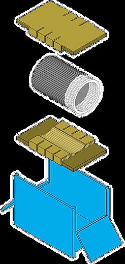 © Innovative Enterprises, Inc. Industrial Single Pack Illustration