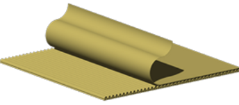 © Innovative Enterprises, Inc. Corrugated Board Illustration