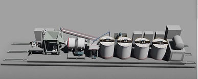 Refinery plant to rent