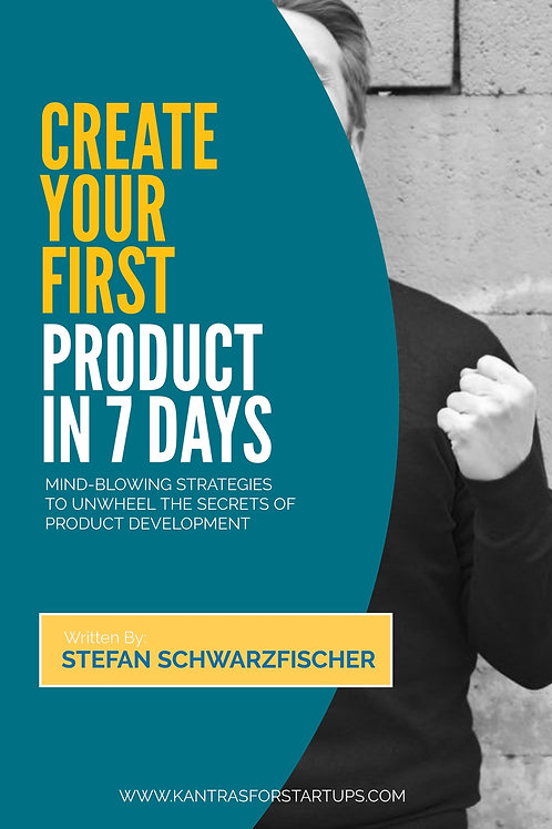 Create Your First Product In 7 Days (as pdf)